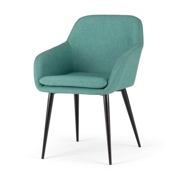 Priyansh Upholstered Dining Chair by Wrought Studio