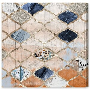 'Modern Moroccan' Graphic Art on Wrapped Canvas by Mistana