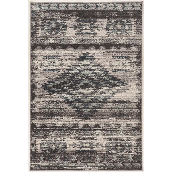 Miche Wabun Black/Beige Area Rug by Loon Peak
