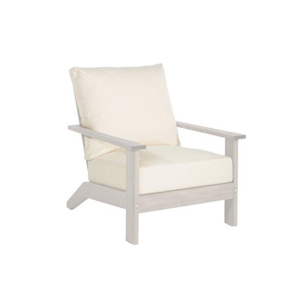 Ashland Teak Patio Chair with Cushion by Summer Classics