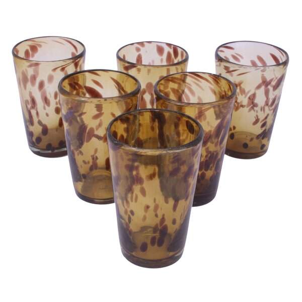 Javier and Efren Conical Glass (Set of 6) by Novica