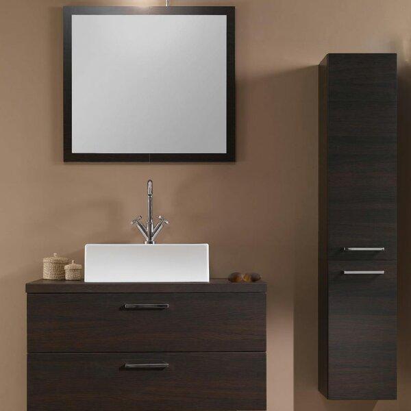 Aurora 30 Single Bathroom Vanity Set with Mirror by Iotti by Nameeks