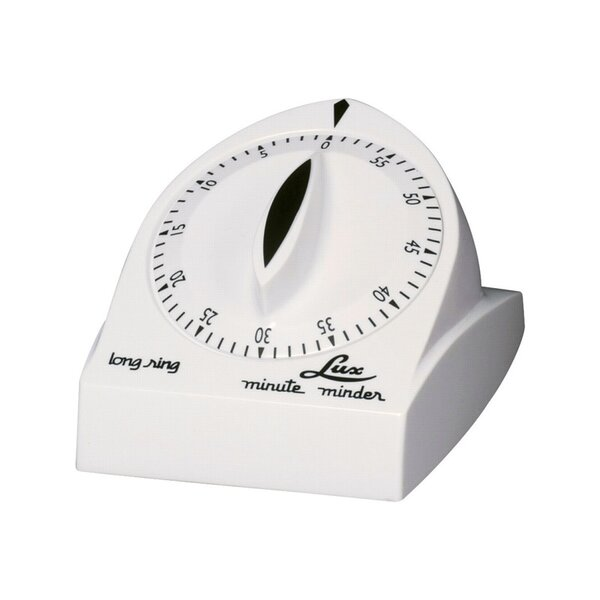 Mute Minder Mechanical Kitchen Timer by LUX