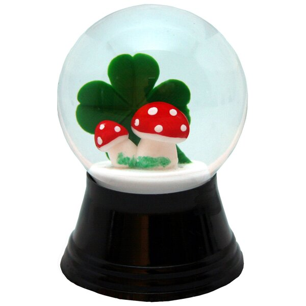 Perzy Mushroom Snow Globe by The Holiday Aisle