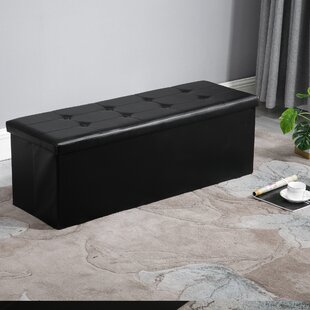 Marcal Tufted Storage Ottoman By Charlton Home