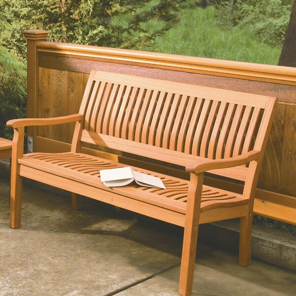 Phat Tommy Serenity Wood Garden Bench by Buyers Choice