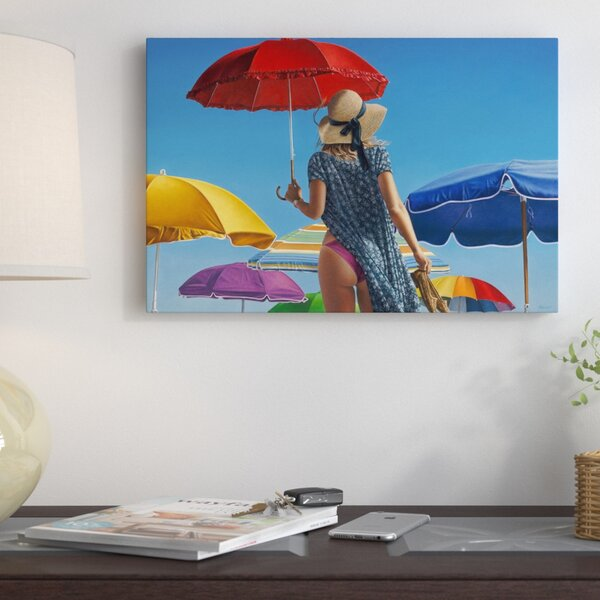 Canopies Painting on Wrapped Canvas by East Urban Home