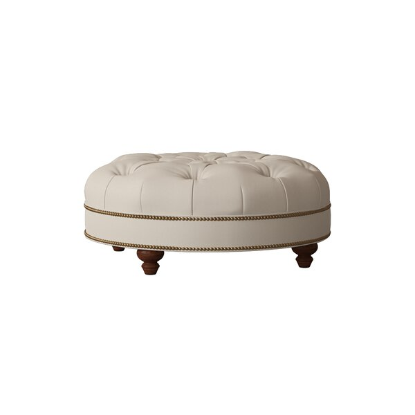 Blake Tufted Cocktail Ottoman by Bradington-Young