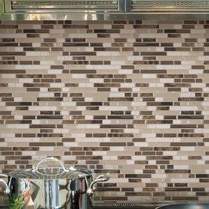 Mosaik Bellagio Bello 10 06 X 10 Peel Stick Wall Tile In