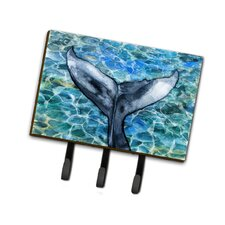 Whale Tail Leash or Key Holder by Caroline's Treasures