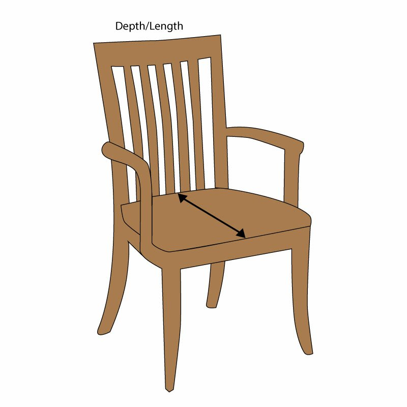 Wayfair Custom Outdoor Cushions Double Piped Outdoor Square Dining Chair Cush