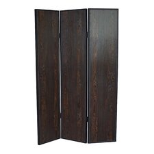 71 x 47 Sonoma 3 Panel Room Divider by Screen Gems