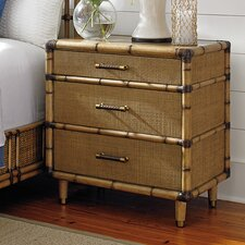 Twin Palms 3 Drawer Nightstand by Tommy Bahama Home