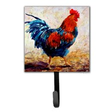 Rooster Leash Holder and Wall Hook by Caroline's Treasures