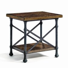 Vintage Patina End Table by Bernhardt