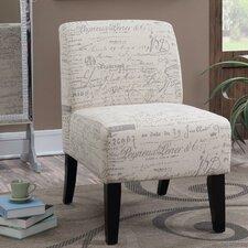 Ardane French Script Slipper Chair by Ophelia & Co.