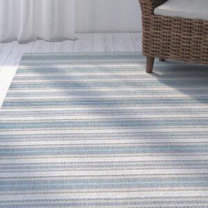 Wexford Marbella Blue Indoor/Outdoor Area Rug