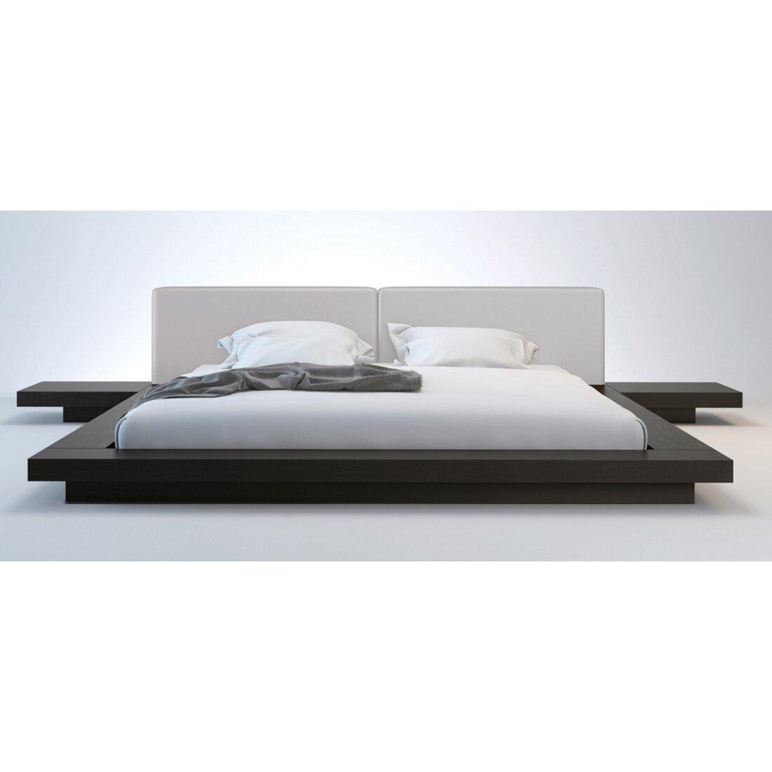 platform bed sales - sloan upholstered platform bed reviews allmodern