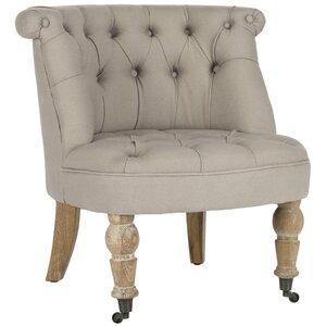 Carlin Tufted Slipper Chair by Safavieh