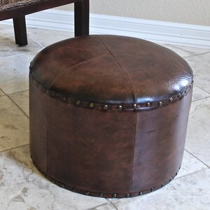 Seville Faux Leather Ottoman by International Caravan