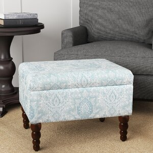 Toulouse Rectangular Storage Ottoman by August Grove