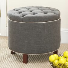 Perrysburg Upholstered Storage Ottoman by Alcott Hill