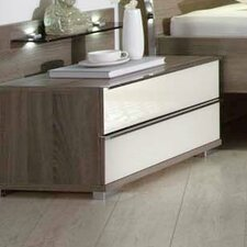 Loft 2 Drawer Nightstand by Creative Furniture