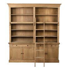 Library 90 Standard Bookcase by Sarreid Ltd