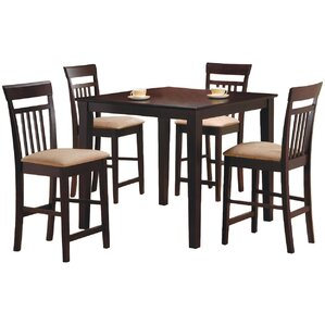 st brigid 5 piece counter height dining set - Countertop Dining Room Sets