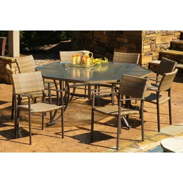 Izetta 9 Piece Dining Set by Darby Home Co