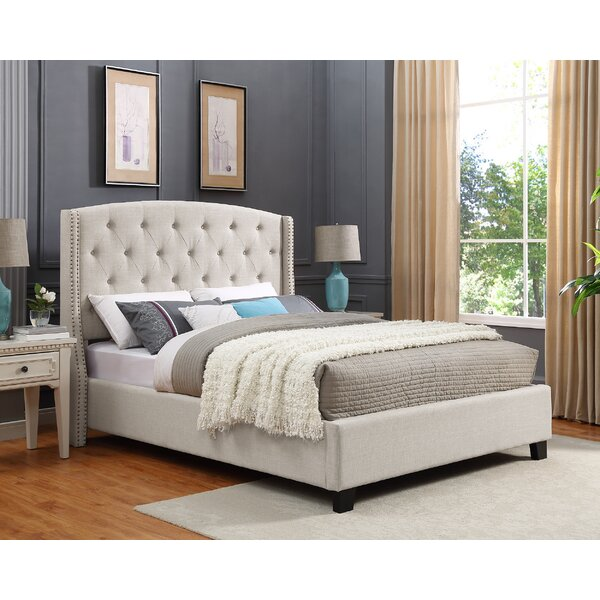 Croce Upholstered Standard Bed by Darby Home Co