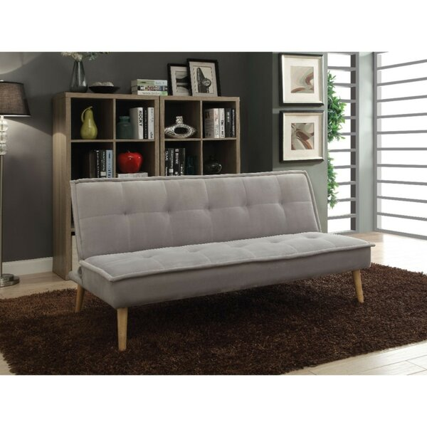 Rivoli Flannel Upholstered Adjustable Sofa by Wrought Studio