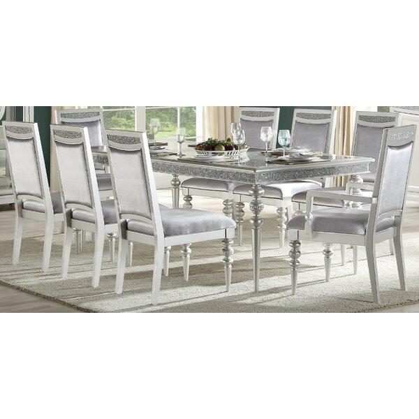 Fuson 9 Piece Extendable Dining Set by House of Hampton House of Hampton
