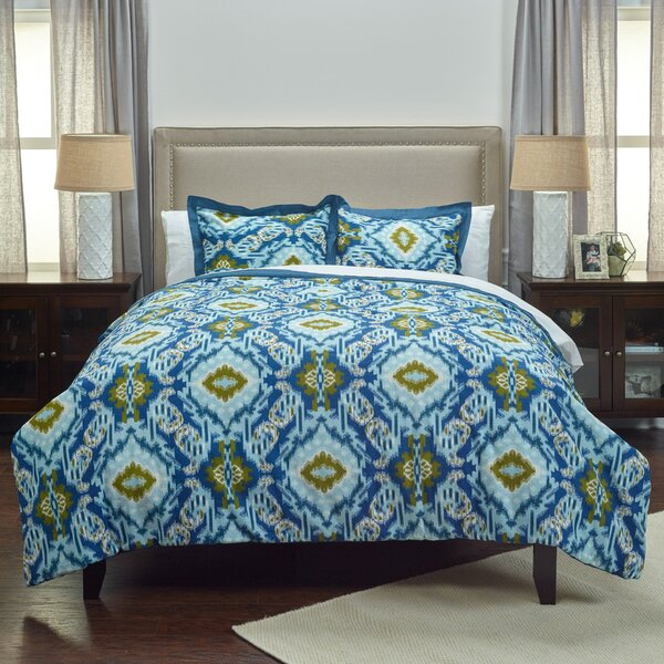 Clewiston Cotton Comforter Set by Breakwater Bay