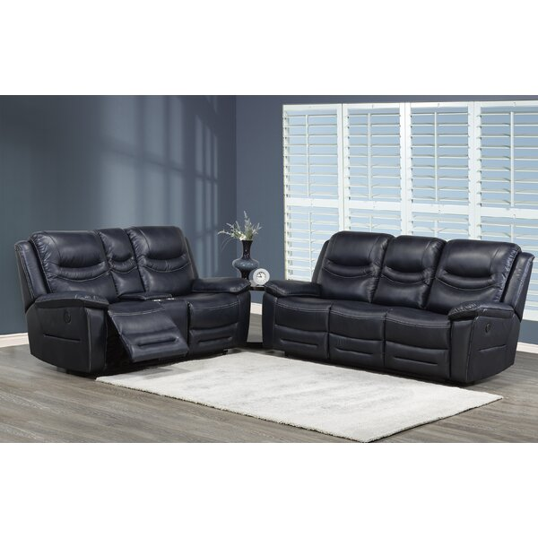 Louviere 2 Piece Reclining Living Room Set by Red Barrel Studio