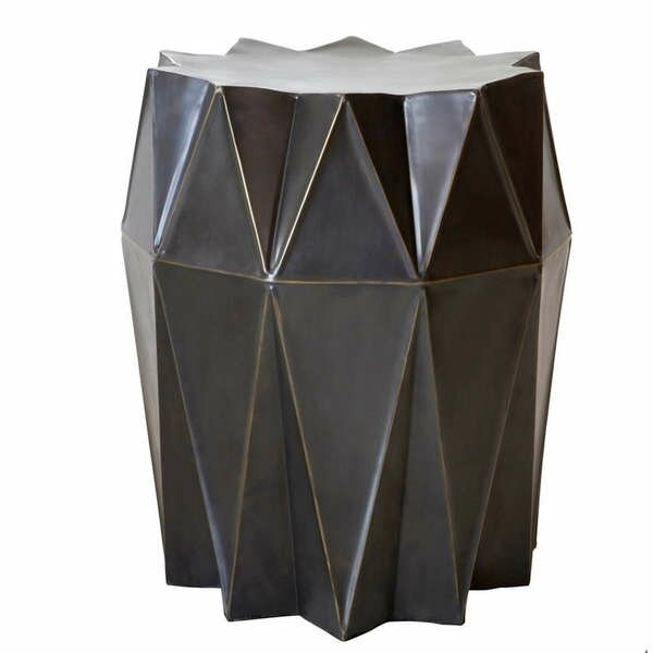 Corrugation Stool by Fashion N You by Horizon Interseas
