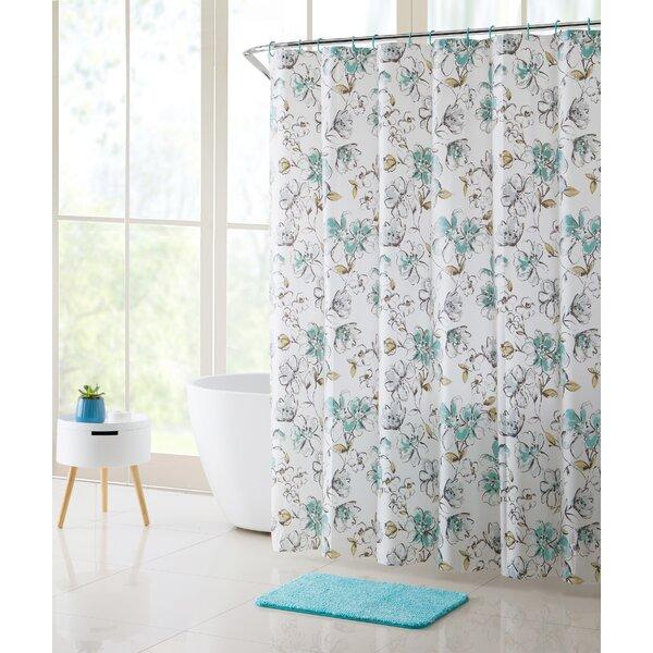 Kenworthy Shower Curtain Set By Winston Porter.
