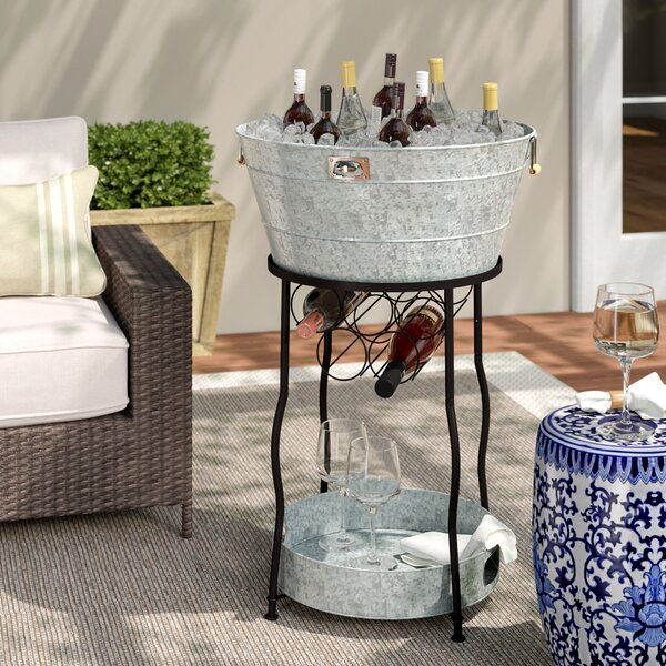 Hoyleton Party Station Beverage Tub by Laurel Foundry Modern Farmhouse