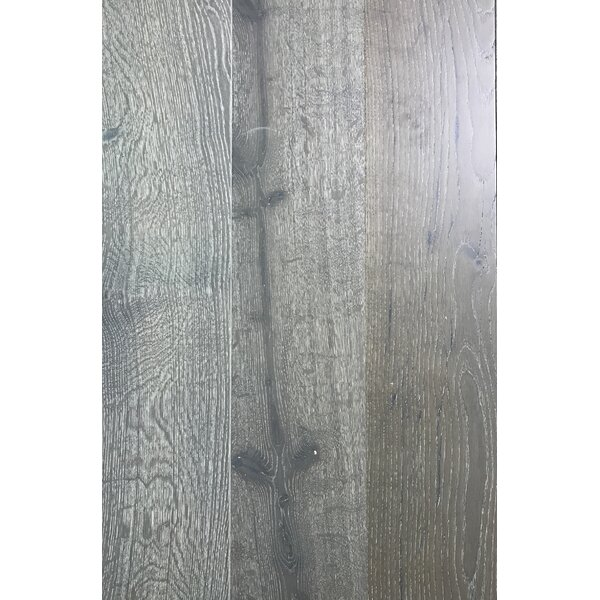 7.5 Engineered Oak Hardwood Flooring in Silver Needle by Floressence Surfaces