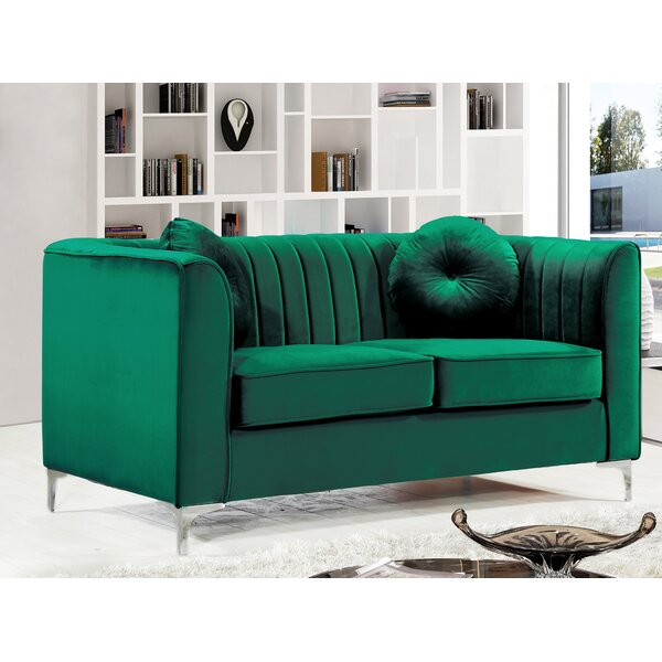 Cool Collection Herbert Loveseat by Willa Arlo Interiors by Willa Arlo Interiors
