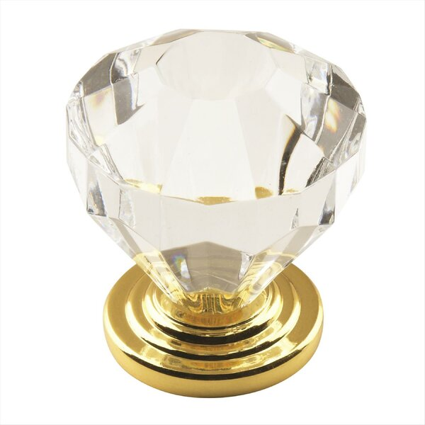 Traditional Classics Crystal Knob by Amerock