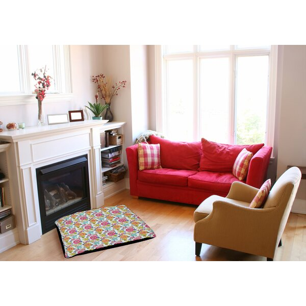 Shangri La Leaves Indoor/Outdoor Pet Bed by Manual Woodworkers & Weavers