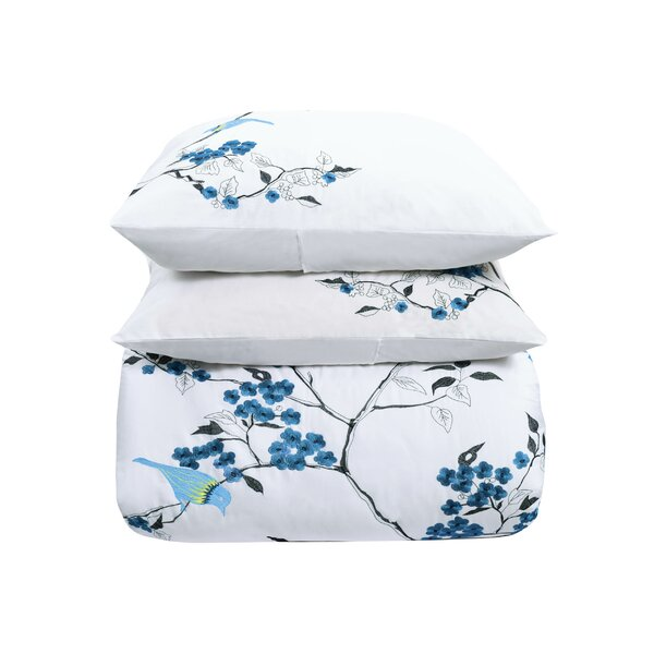 Pascal Embroidery 3 Piece Duvet Set by Ebern Designs