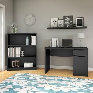 rustic home office furniture | wayfair