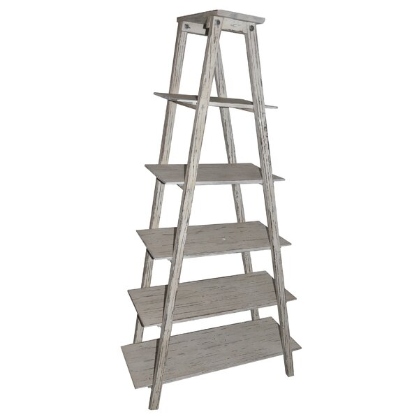 Shelby Ladder H Etagere Bookcase by Crestview Collection