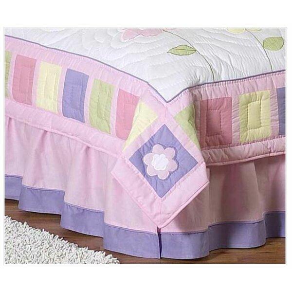 Butterfly Queen Bed Skirt by Sweet Jojo Designs