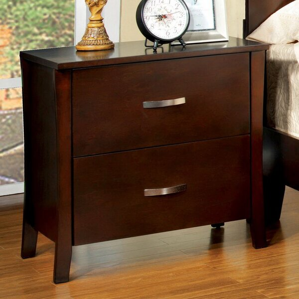 Millican 2 Drawer Nightstand by Red Barrel Studio