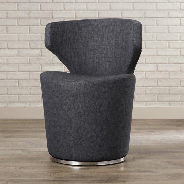Barrier Barrel Chair by Mercury Row