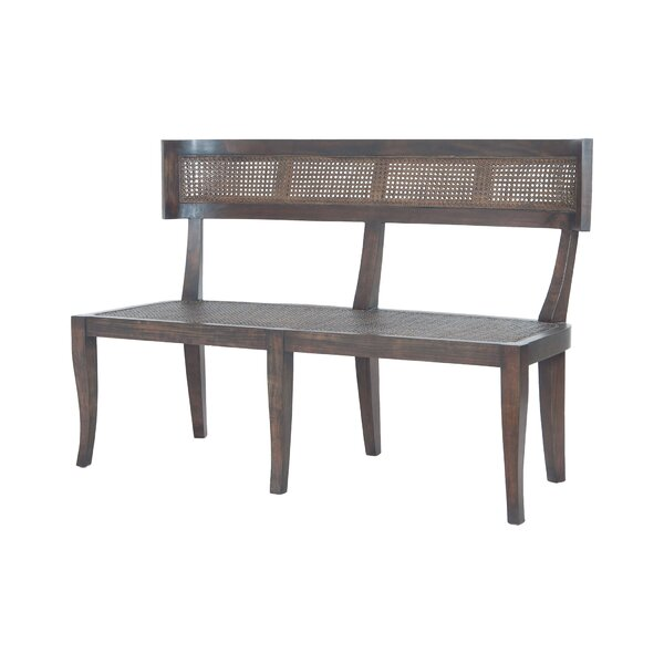 Doran Country Wood Bench by One Allium Way