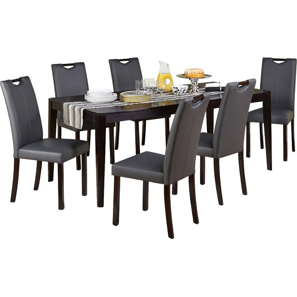 Cox 7 Piece Dining Set by Latitude Run